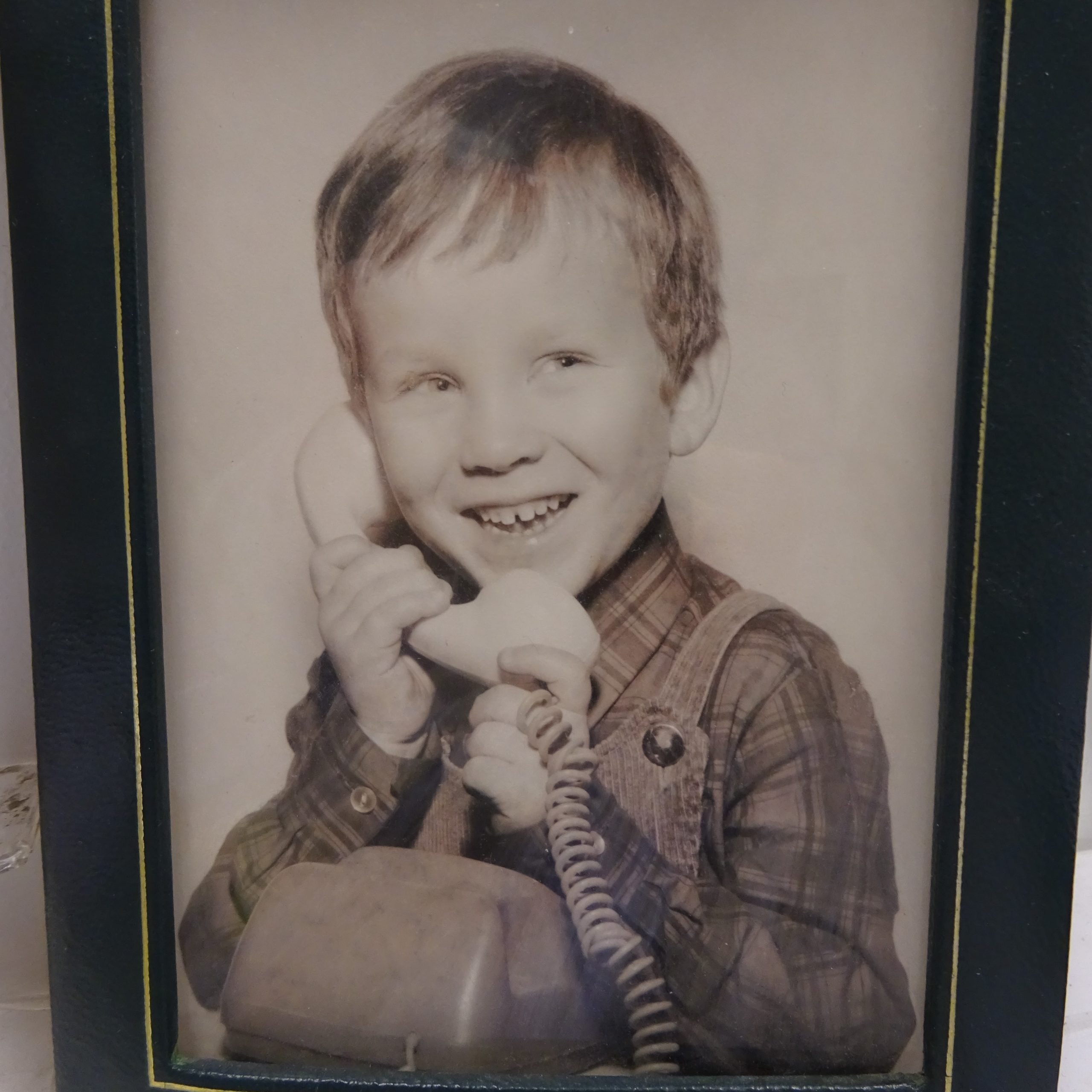 Herr Fritze am Telefon